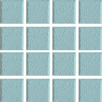 Waxman CA-404 Anti Slip Sky Blue - Ceramic Pool Tiles - 10 Sheet Pack